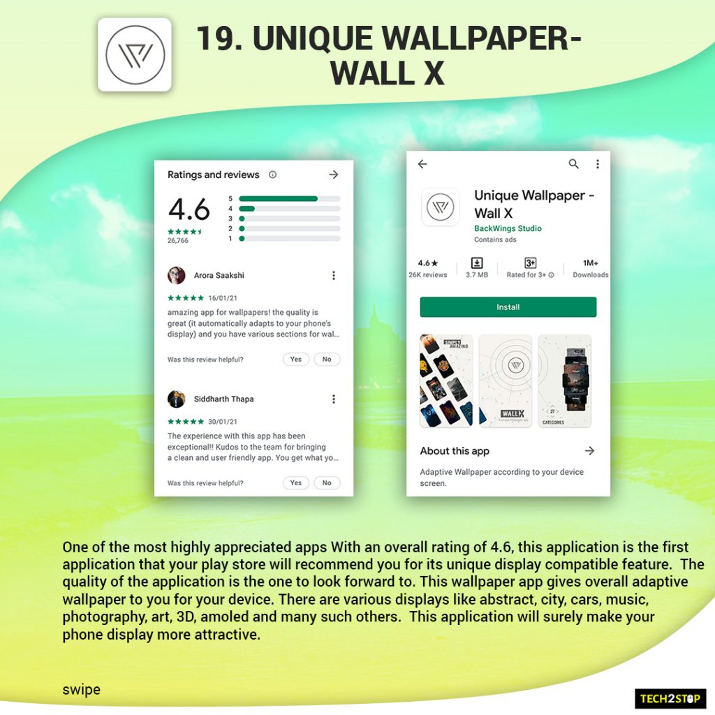 Top 20 Wallpaper Apps for Android in 2021