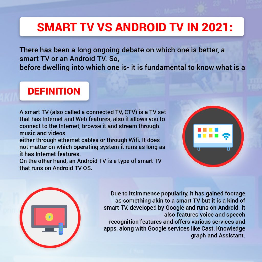 Smart TV vs Android TV | Definition