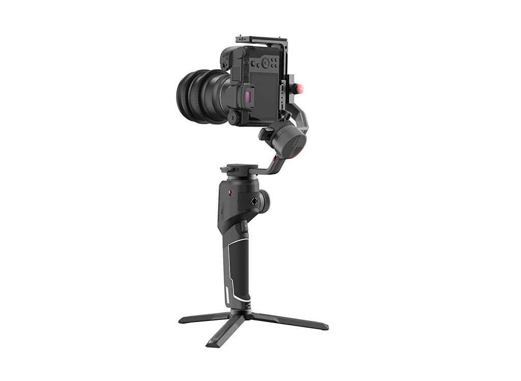 Best Gimbals for DSLR | Moza Aircross 2 - Ultra-Lightweight 3-Axis Electronic Gimbal Stabilizer