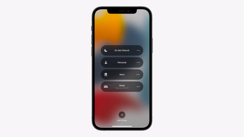 Personal and Work Mode   iOS 15 Released in WWDC 2021   Everything you Need to Know