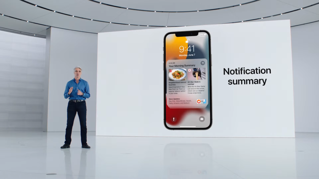 Notifications Summary   iOS 15 Released in WWDC 2021   Everything you Need to Know