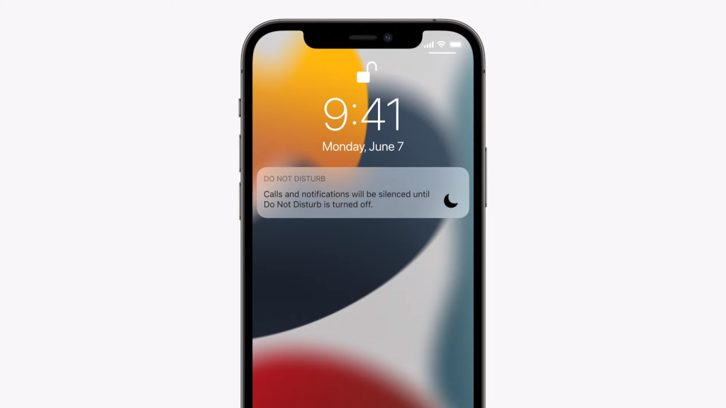 Do Not Disturb   iOS 15 Released in WWDC 2021   Everything you Need to Know